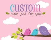 Custom Order - Elegant Black Earrings with custom changes for Melissa Fabian