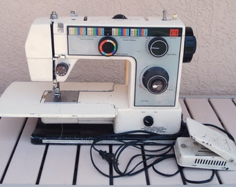 JCPENNEY Heavy Duty Sewing Machine Model 6940 For Replacement Part(s).