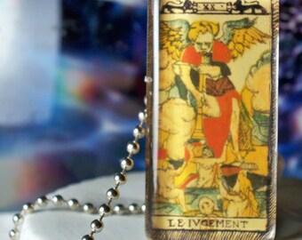 Tarot Judgement pendant necklace