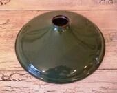 Green Enamel Industrial Lamp Shade