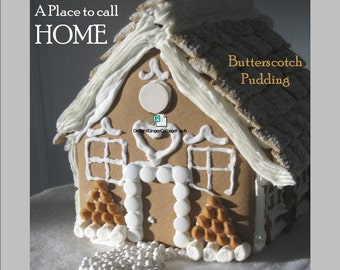 Magazine Bag Duct Tape ANA DELIGHT Gingerbread Cottage