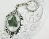 Ivy Leaf Keychain