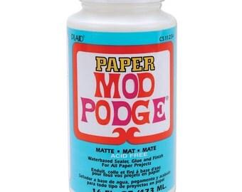 Mod Podge Paper Matte Finish - 16 ounces (315678)