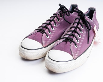 Made in USA CONVERSE All-Stars PURPLE  Men's Size 11 .5