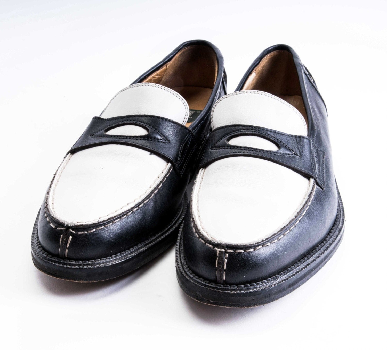 Loafers Mens  Tone Spectator Shoe