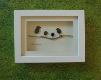 Pebble Art - 'twit  twoo'