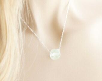 Sea Glass Necklace Sterling Silver Seaglass Necklace Sea Glass Pendant Sea Glass Jewelry Beach Glass Seaglass Pendant Seaglass Jewelry