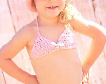 Bikini Vintage Pink Lace