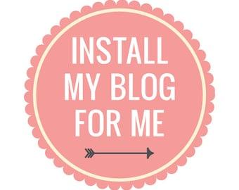 Blog Installation/ Changes