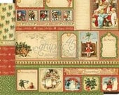 BOTH December Pages - RETIRED Graphic 45 Place in Time  ** See Discounted Shipping Note**
