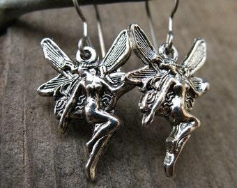 Titanium Fairy Earrings, Hypoallergenic, Titanium Earrings