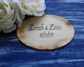 Wedding Guest Book Rustic Woodland Farmhouse Country Chic Distressed You Pick Your Color