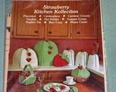 1980 Strawberry Kitchen Kollection Pattern by The Gingham Goose