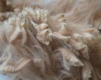 Mid Fawn Huacaya Alpaca Fleece