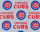 """Chicago Cubs Fabric / MLB /  Rare /   OOP/ 7"""" by 29"""""""