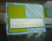 Father's Day Card for Grandfather, Birthday Card for Grandpa, Thank You Card