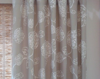 Magnolia Home Curtains Rod Pocket Pinch Pleat Curtains Kitchen Curtain Grommet Panels Tab Top Curtains Unlined Modern Curtains 52x63-52x108
