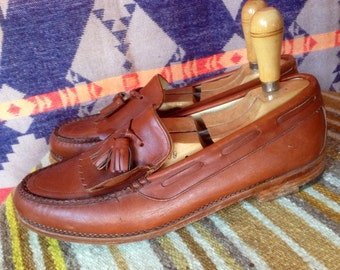 Vintage leather loafers USA M 10.5