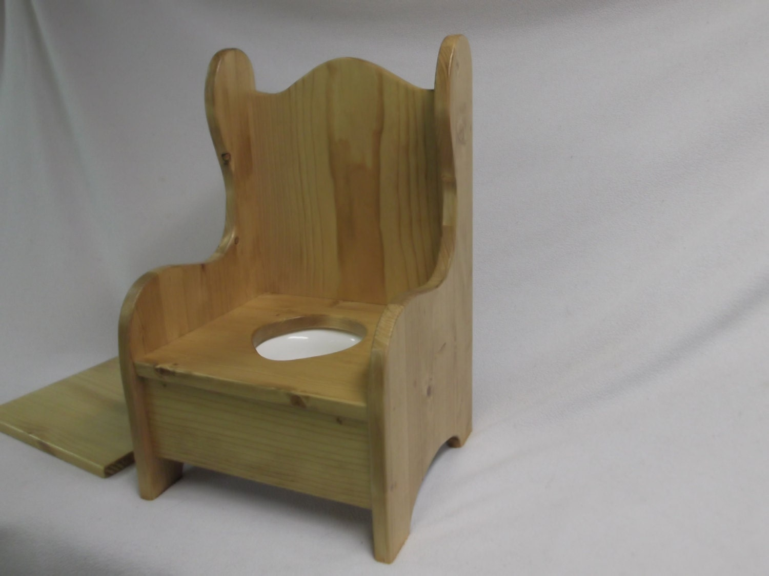 Antique commode chair - Wooden Potty Chair