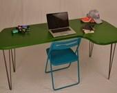 Desk - Green - Mid-Century Modern