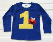 Custom Boutique Number Shirt Birthday Shirt Boys Tops Blue Shirt BirthdayTheme Shirt First Birthday. Available 0-3 months through Size 10/12