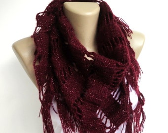 EXPRESS SHIPPING crochet scarf shawl - neckwarmer crocheted shawl scarf , gift ideas , for her