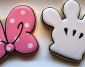 Mouse Glove Cookies 2 dozen