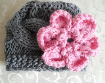 Knit Baby Hat, Baby Girl Hat, Knit Baby Girl Hats, Baby Knit Hat, Baby Hats for Girls, Winter Baby Girl Hats