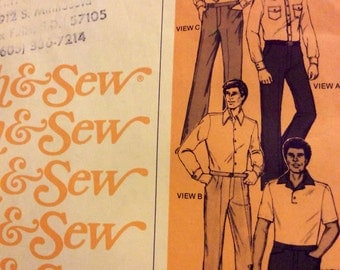 Stretch and Sew 1705 Men's Pants and Shorts
