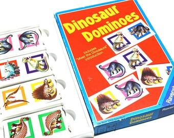 Dinosaur Dominos by Ravensburger 1988
