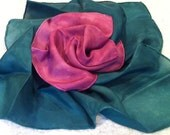 Silk Duo for nature table, wrapping, doll play, play silks