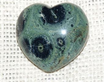 Premium Kambaba Jasper Mineral Heart