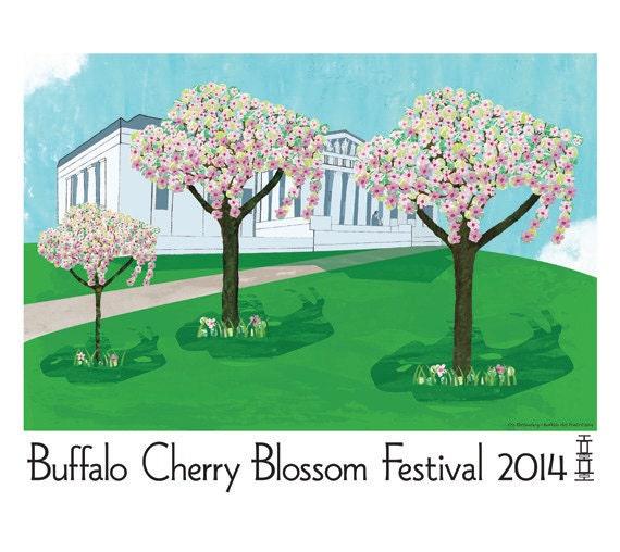 Buffalo Cherry Blossom Festival 2014 Poster
