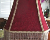 Victorian Style Lampshade Hand Made Vintage Look