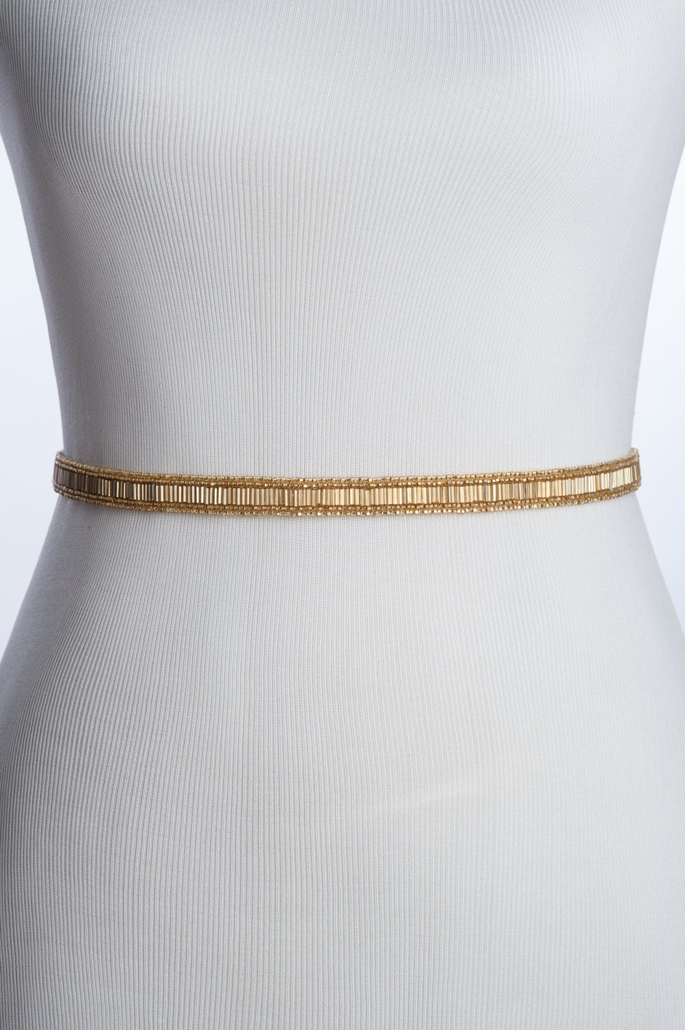 gold beaded wedding belt gold bridal by