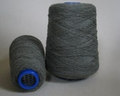 Pure Cashmere Yarn 100%, Cone, Thyme Green, 440 grams Nm3/28
