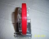 Vintage Bakelite Cherry Tomato Red Bangle  -  Red Catalin Bracelet  -  Vintage Bakelite Bangle Bracelet
