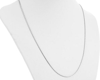"1 Stainless Steel Chain Necklace with Lobster Clasp, 19-7/8"" long  fch0091"