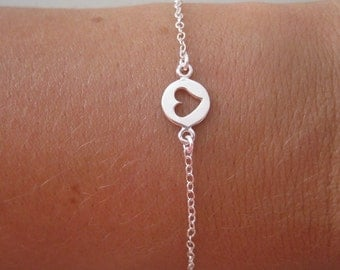 Heart Charm Bracelet - Charm Bracelet