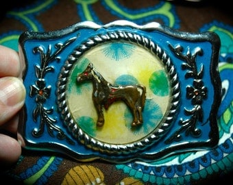 1950's Reticulated Belt Buckle.