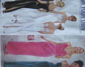 Simplicity Pattern 9124 Misses' Dress   2000   Uncut