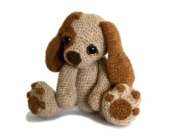 Puppy Dog Amigurumi Crochet Pattern PDF Instant Download - Moss