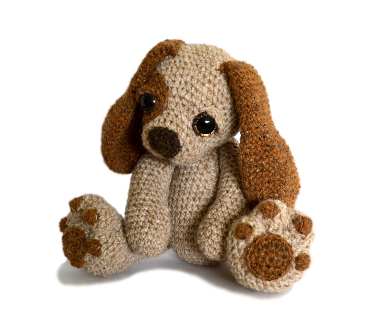 Dolphin Amigurumi Free Crochet Pattern : Puppy Dog Amigurumi Crochet Pattern PDF Instant Download