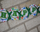 A Very Hungry Caterpillar - Birthday Banner