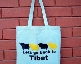 Tibetan Eco Friendly Shopping Bag