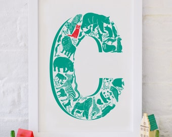 Animal Alphabet Letter C