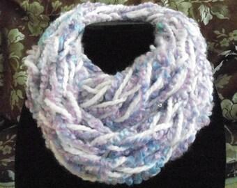 Child's soft infinity scarf