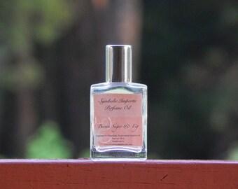 Brown Sugar and Fig Perfume Oil - Roll On Perfume - 15mL