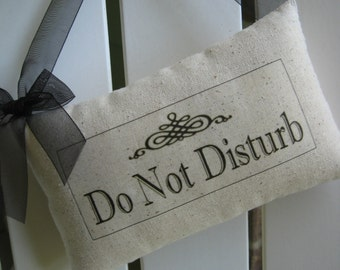 Personalized Door Sign, Do Not Disturb, Teacher Gift, French Farmhouse, Powder Room, Guest Room, Bathroom
