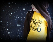 May the fourth be with you, Star Wars Day kids t-shirt